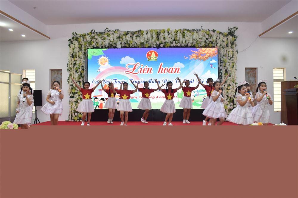 Hội Đồng Đội tỉnh Sóc Trăng tổ chức Liên hoan các Đội tuyên truyền măng non về Luật Trẻ em tỉnh Sóc Trăng   năm 2021