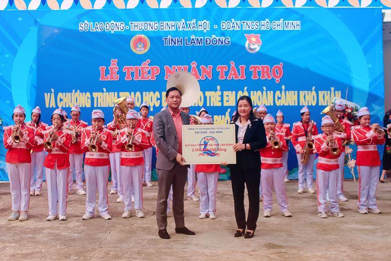 Lâm Đồng - Triển khai Công trình măng non hướng tới chào mừng 80 năm ngày thành lập Đội TNTP Hồ Chí Minh với tổng trị giá 2 tỷ đồng