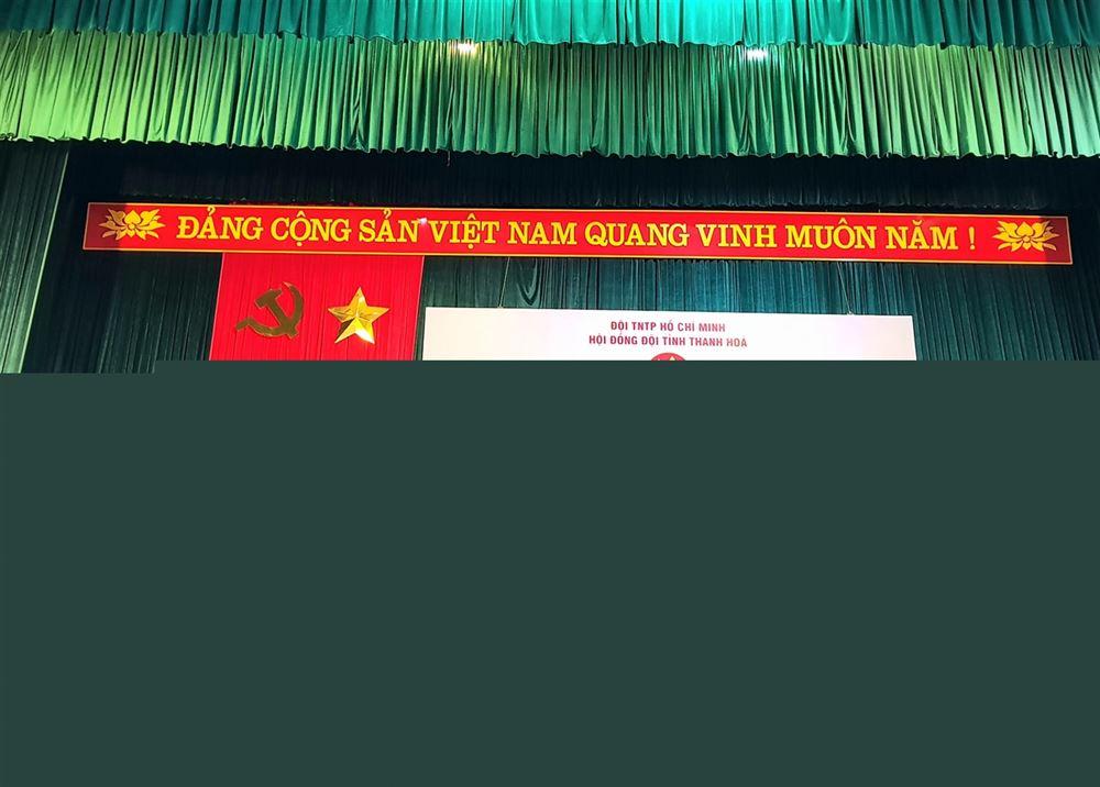 Thanh Hóa: Tuyên dương Cán bộ làm công tác Đội, Giáo viên Tổng phụ trách Đội và Đội viên thiếu nhi tiêu biểu cấp tỉnh năm 2021.