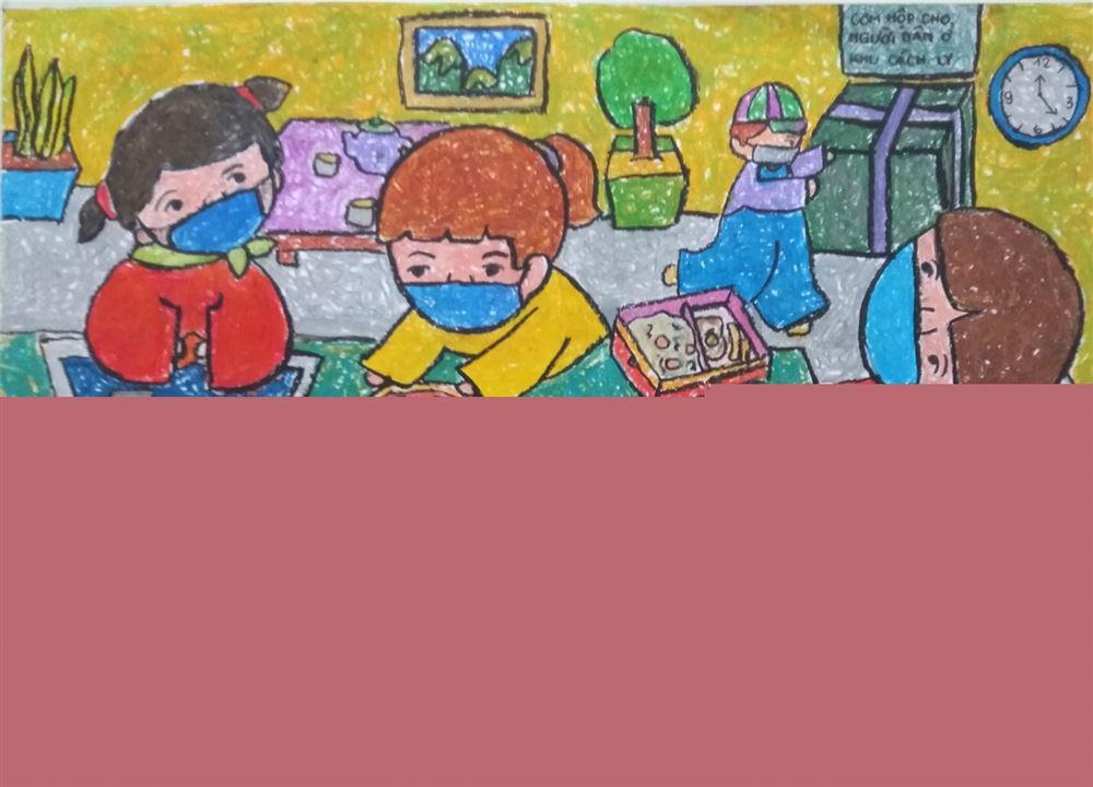 """Cuộc thi vẽ tranh """"Vững tin Việt Nam"""": Thể hiện tinh thần chung tay phòng, chống dịch bệnh của thiếu nhi"""