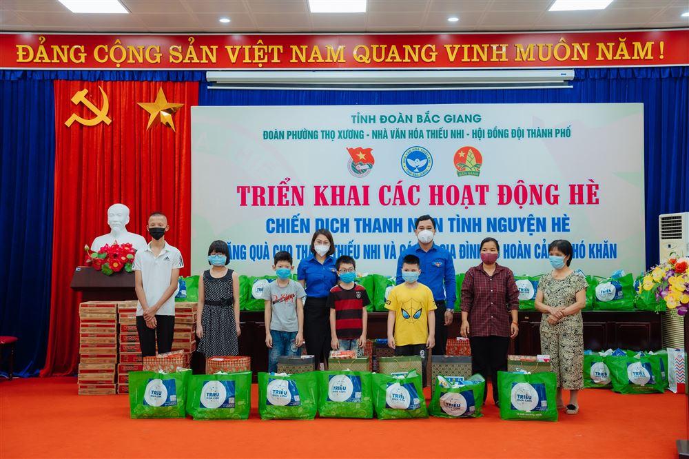 Bắc Giang: Triển khai các hoạt động hè và trao 85 suất quà  cho trẻ em khuyết tật, trẻ em có hoàn cảnh khó khăn